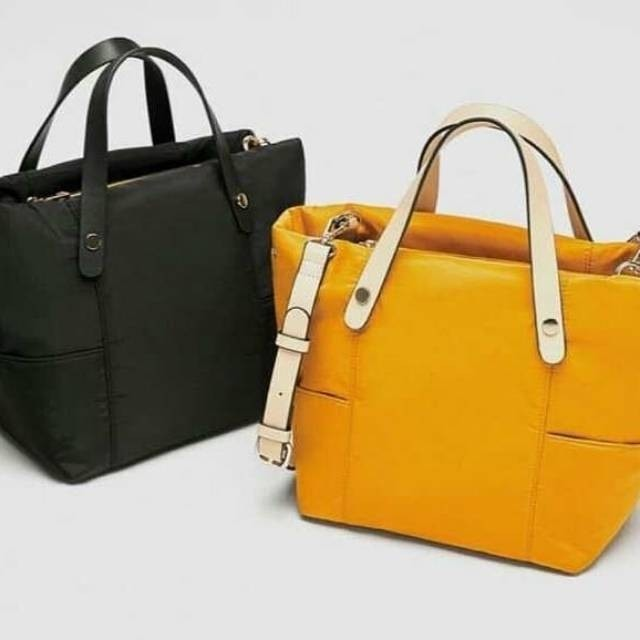 8908bf1c4684 Original zara technical fabric bag, Olshop Fashion, Olshop Wanita on ...