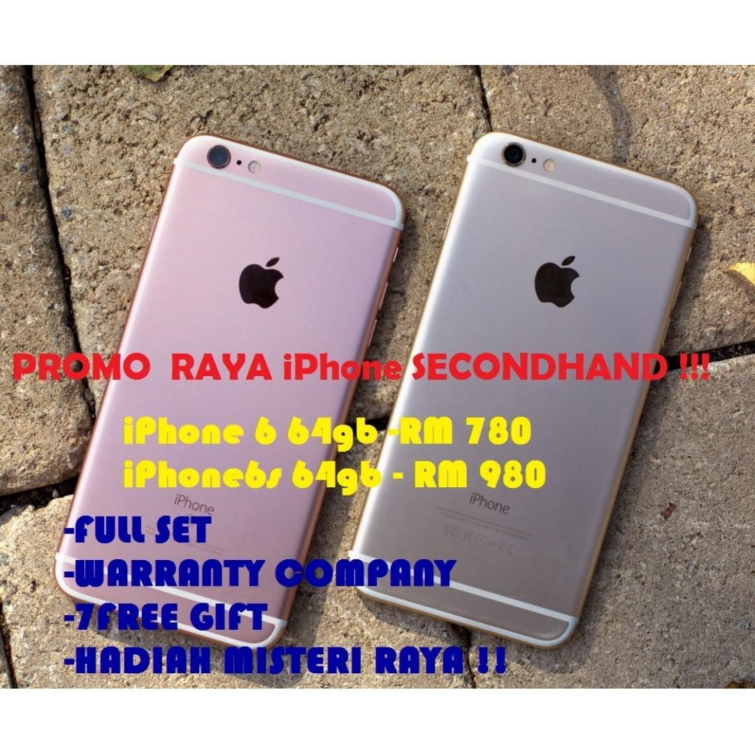 Promosi iPhone Secondhand 6S 8522c70599