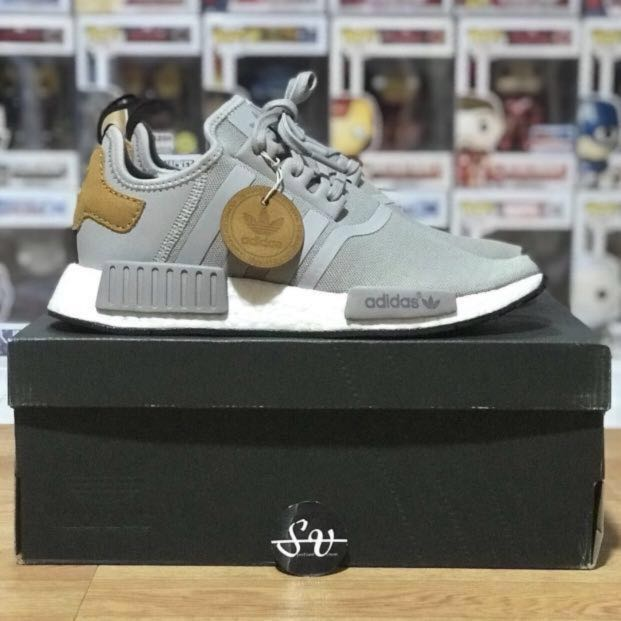 3b2500f2c SALE  Adidas Originals Master Craft   Grey Brown White Nmd