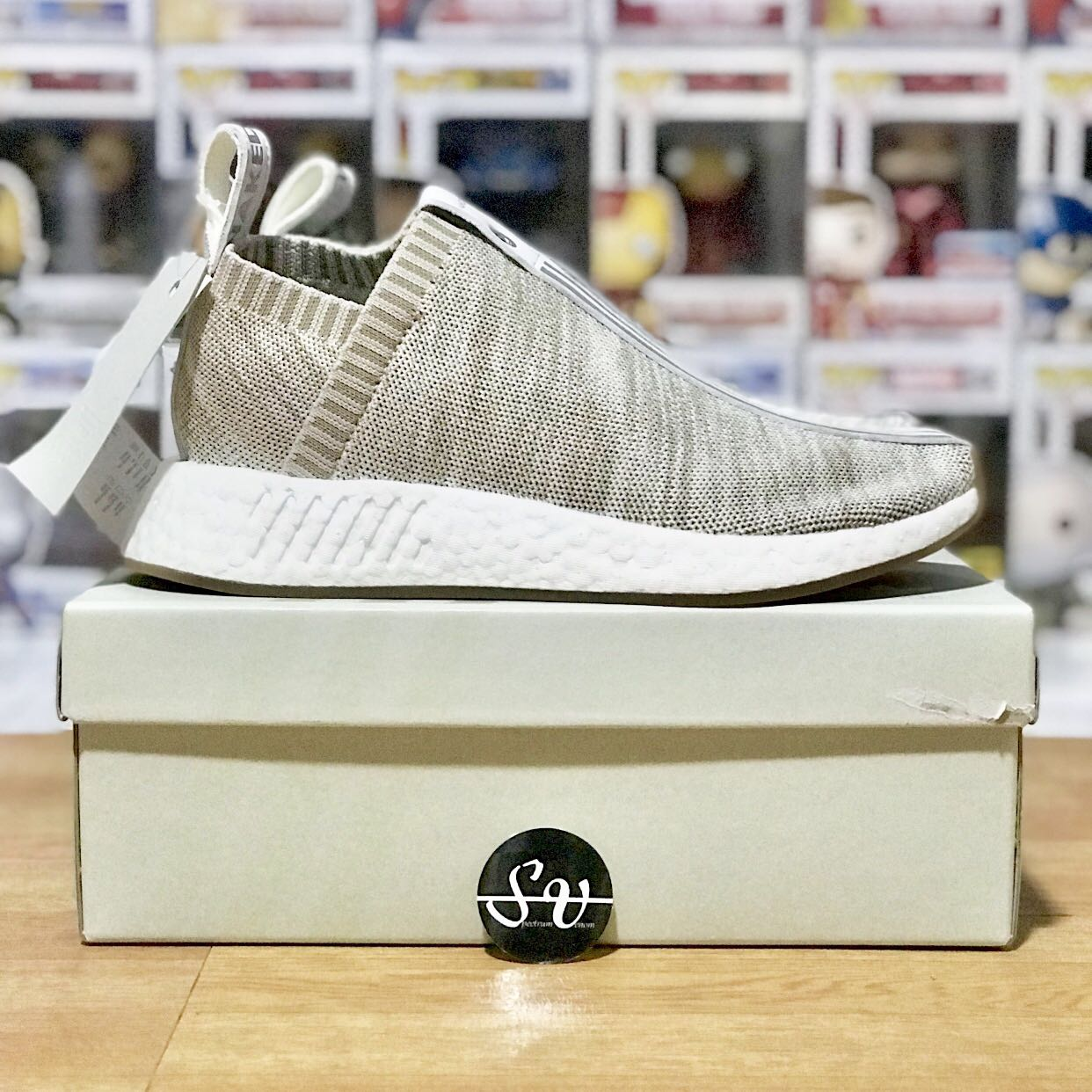 256f12258 SALE  Adidas Originals x Naked x Kith NMD Chukka City Sock CS2 ...