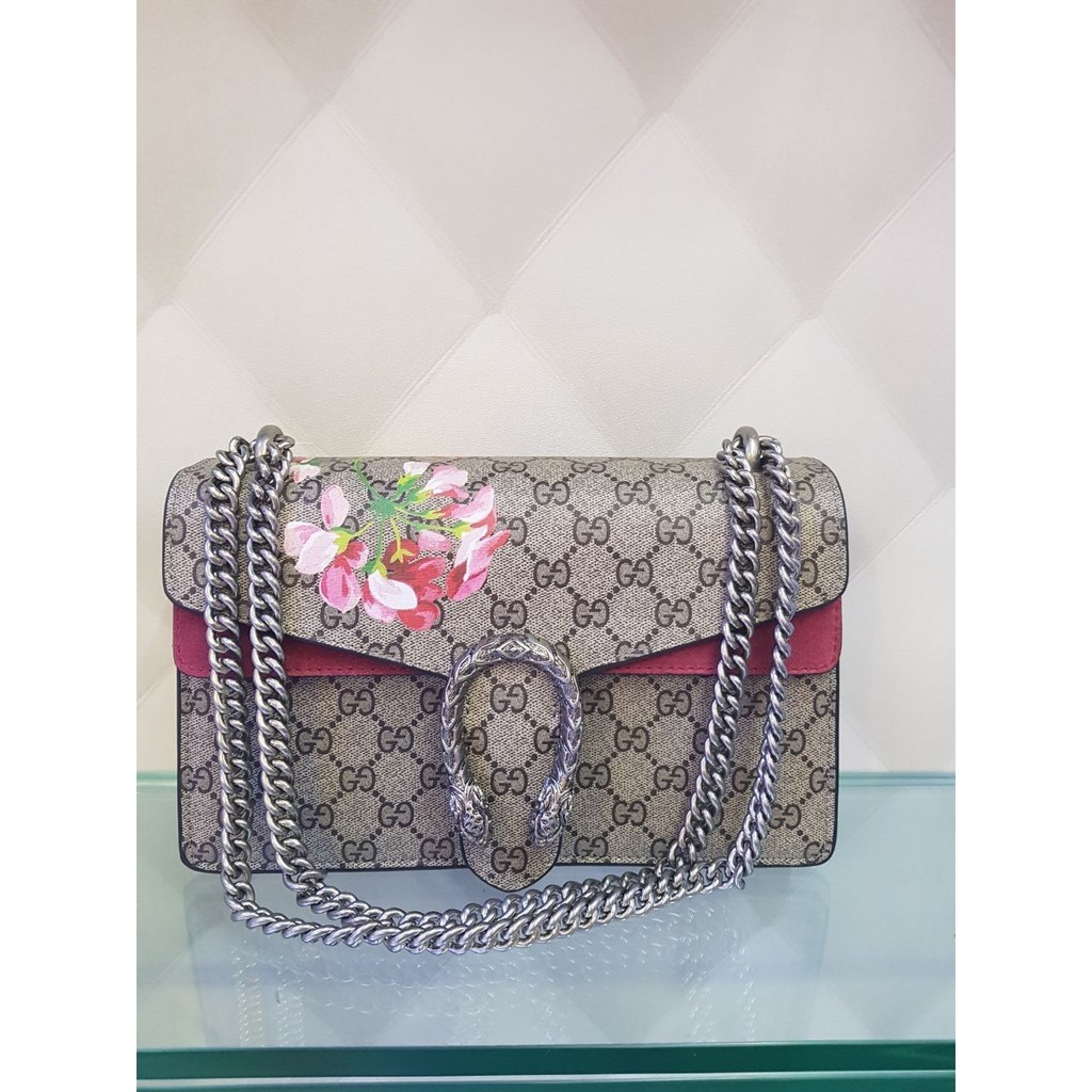 Tas Gucci Marmont Flower Mirror Quality 5af456d606
