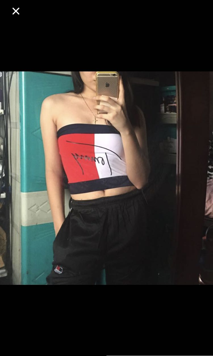 5c332ccc33 Tommy Hilfiger Tube Top   Pants