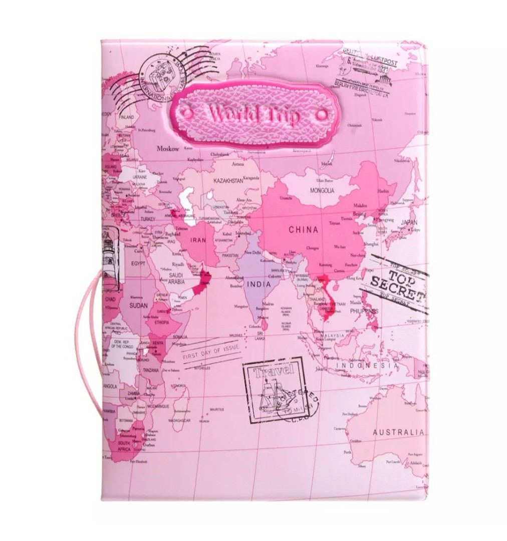 World map passport holder leather travel document case travel photo photo gumiabroncs Image collections