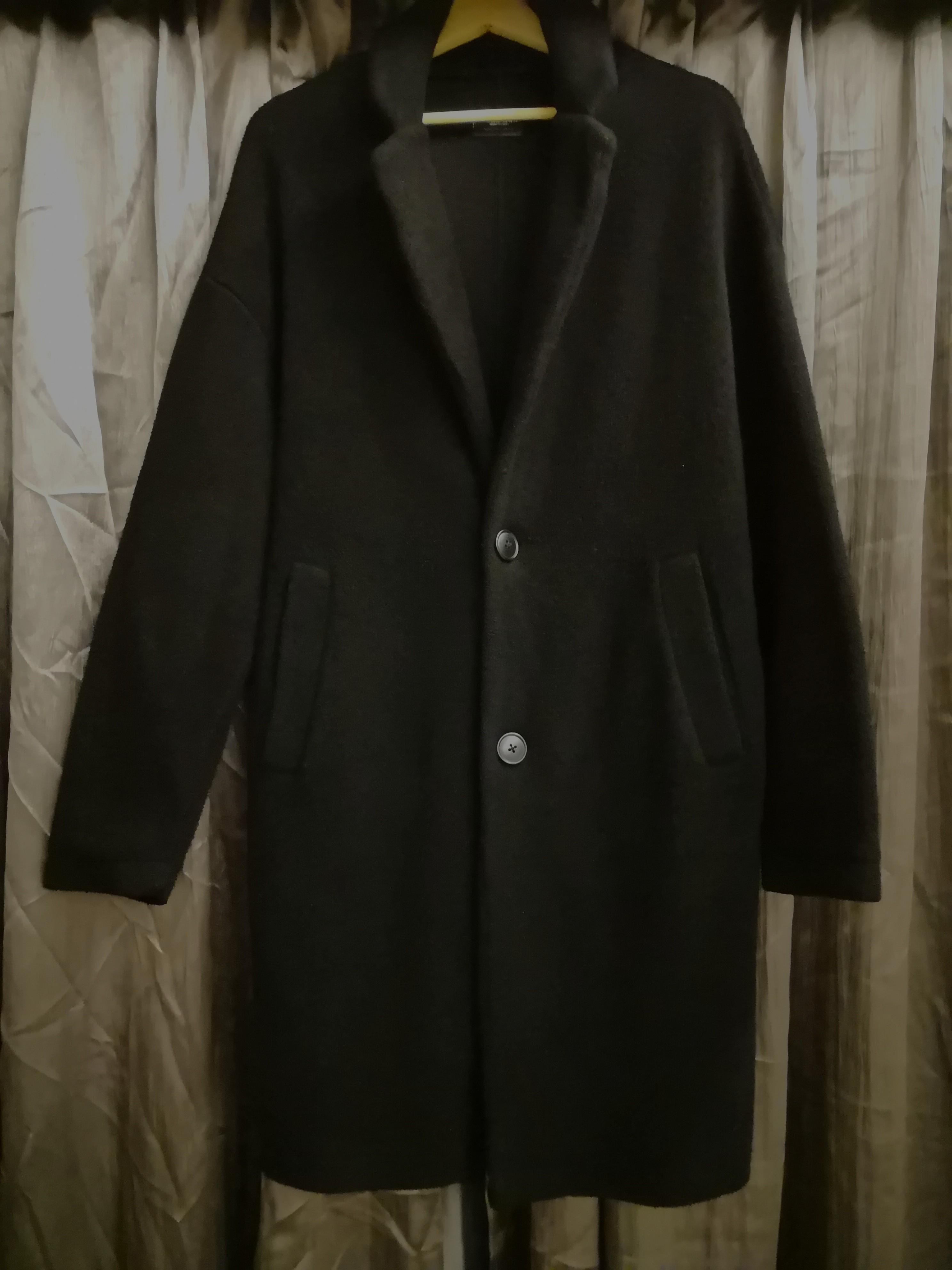 4e09aa21 Zara Mens Long Coat, Men's Fashion, Clothes, Outerwear on Carousell