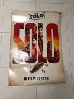 Solo limited edition poster