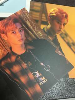 Rare Out Of Print Official Instock Exo lotto postcard set Chanyeol