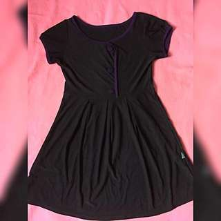 Violet Black Top / Short Dress #ramadan50