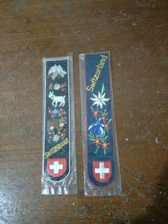 Switzerland Bookmark