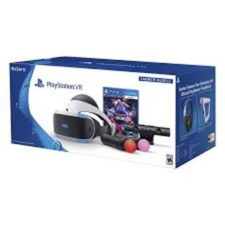 Playstation VR local bundle set PSVR