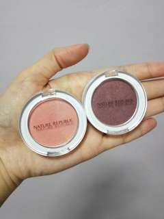 Nature Republic Single Eye Shadows