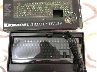 Razer Blackwidow Ultimate Stealth 2014 Keyboard