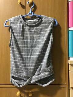 Grey Stripe Shirt