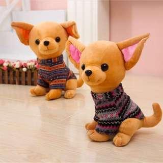 Chihuahua plush toy - 25cm (PO)