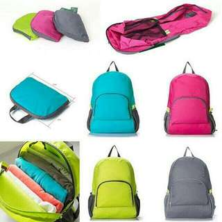 2 way foldable water prook bag pack