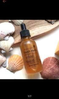 Natural pacific fresh herb origin serum