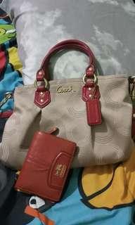 Coach Bag & wallet