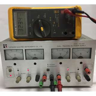 TOPWARD ELECTRIC TPS-4000 DUAL-TRACKING DC POWER SUPPLY