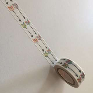 Arrows GJ46 Washi Tape 15mm x 10m