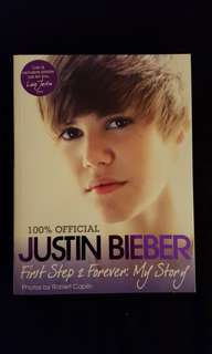 *100% Official* Justin Bieber ~ First step 2 FOREVER : My Story
