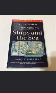Ships and the Sea by Peter Kemp (history military non fiction book)