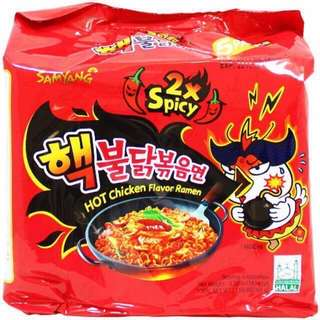Samyang 2x Spicy Fire Noodles