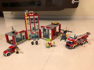 Lepin 02052 City Fire Station