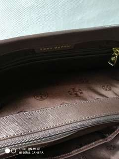 Tory Burch preloved vvgc with dusty bag