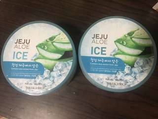 Jeju Aloe Ice Soothing Gel