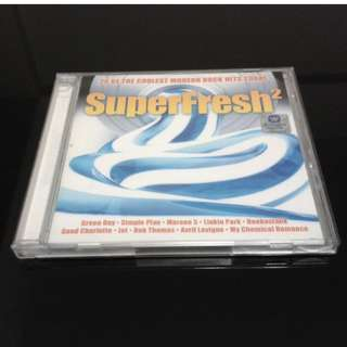 'SUPER FRESH 2' 20 Of The Coolest Modern Rock Hits Today (CD)