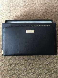 Original Brand New Furla Classic XL Zip Around Wallet - Black