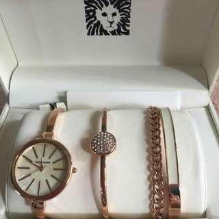 original anne klein watch set