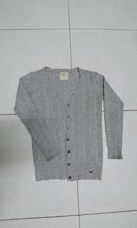 美國購回 正版 Hollister 針織外套 襯衫 披肩