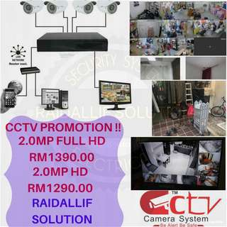 Cctv 2.0mp full hd/hd include wiring