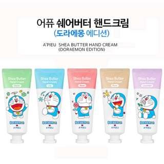 A'pieu Shea Butter Hand Cream Doraemon Edition [JASTIP HANDCARRY THAILAND]