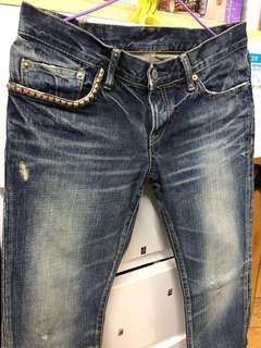 W30🇯🇵Hysteric Glamour skinny jeans 👑記得follow 我。有大量👖