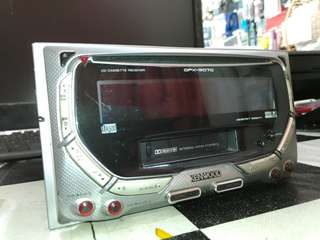 Kenwood double dim radio vcd cd kaset player