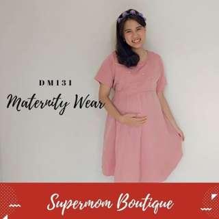 BAJU DRESS IBU MENYUSUI - DM0131