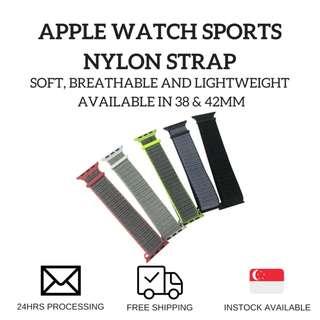 🚚 Apple Watch Sports Nylon Strap