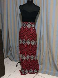 Forever 21 maxi dress with slits both side