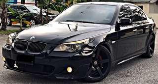 SAMBUNG BAYAR / CONTINUE LOAN BMW E60 525i M-SPORT 2.5CC (A) TAHUN 2009/2014