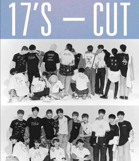 Seventeen 1st Look Cut Tshirt