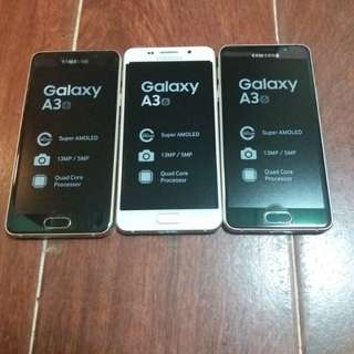 Galaxy a3 2016 brand new 16gb 4g original gold