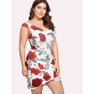 Plus Size Sexy Dress - COD