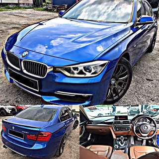 SAMBUNG BAYAR / CONTINUE LOAN  BMW F30 328i TWIN POWER TURBO FULL SPEC