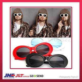 kurt cobain sunglasses kacamata big oval