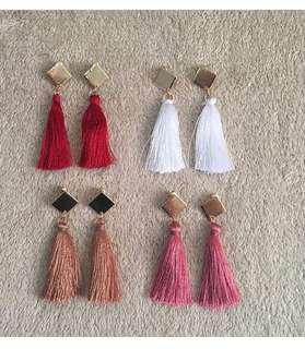 Denise Tassel Earrings