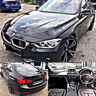 SAMBUNG BAYAR / CONTINUE LOAN  BMW F30 316i TWIN POWER TURBO