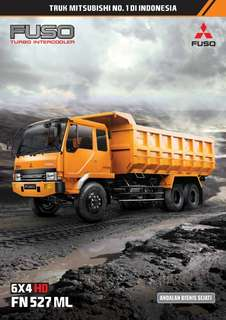 Dumptruck Fuso ML527MS