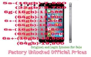 Original and Legit Iphones