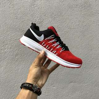 [Clearance EU 36 @ 37 only] Nike Zoom Pegasus Red Black 😊